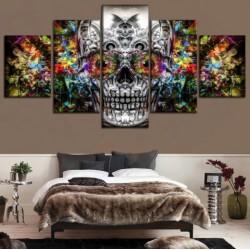Tableau Tête de Mort Crâne Mexicain