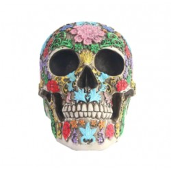 Decoration Tête de Mort Mexicaine