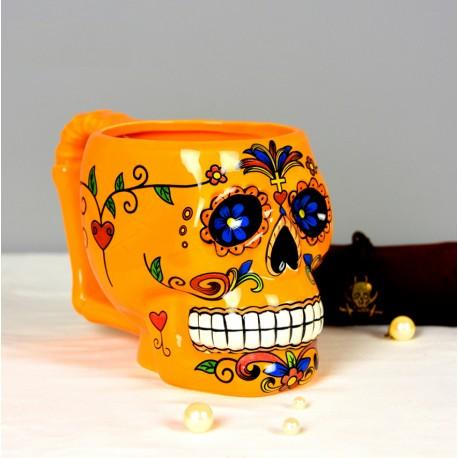 Tasse Tête de Mort Mexicaine
