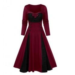 Robe Tête de Mort Vintage