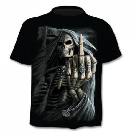T shirt Tête de Mort 3D