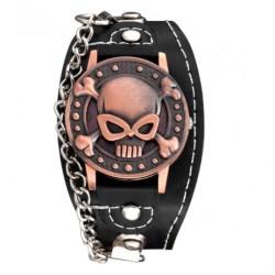 Montre Bracelet Tête de Mort Pinky Skull