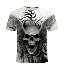 T Shirt Tête de Mort Ange de la Mort