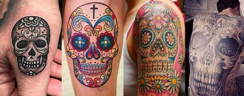 Tete De Mort Mexicaine Crane Mexicain Signification Tetedemortboutique