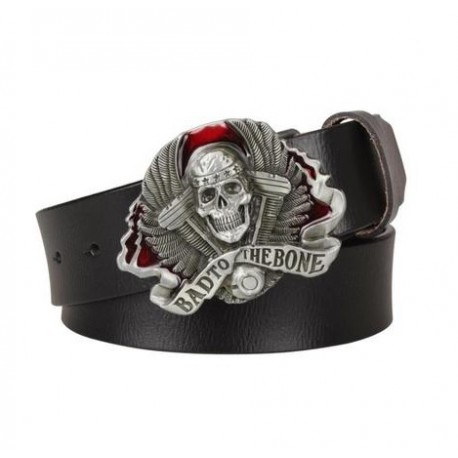 Ceinture Tête de Mort Bad To The Bone