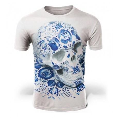 T Shirt Tête de Mort Renaissance