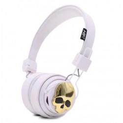 Casque Bluetooth Tête de Mort