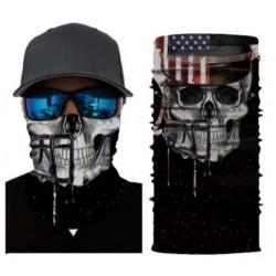 Tour de Cou Tête de Mort USA Skull