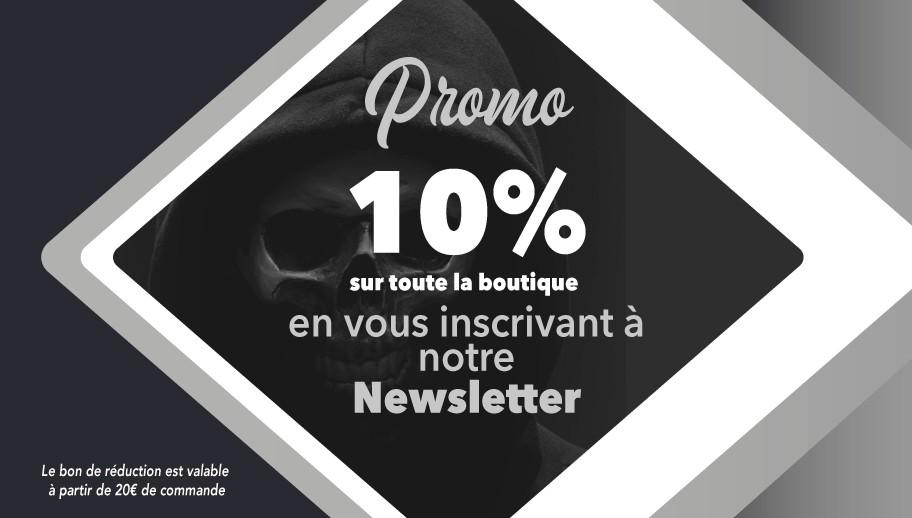 Promo Tête de Mort Boutique